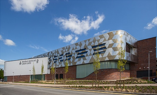Blackburn College leisure centre 2