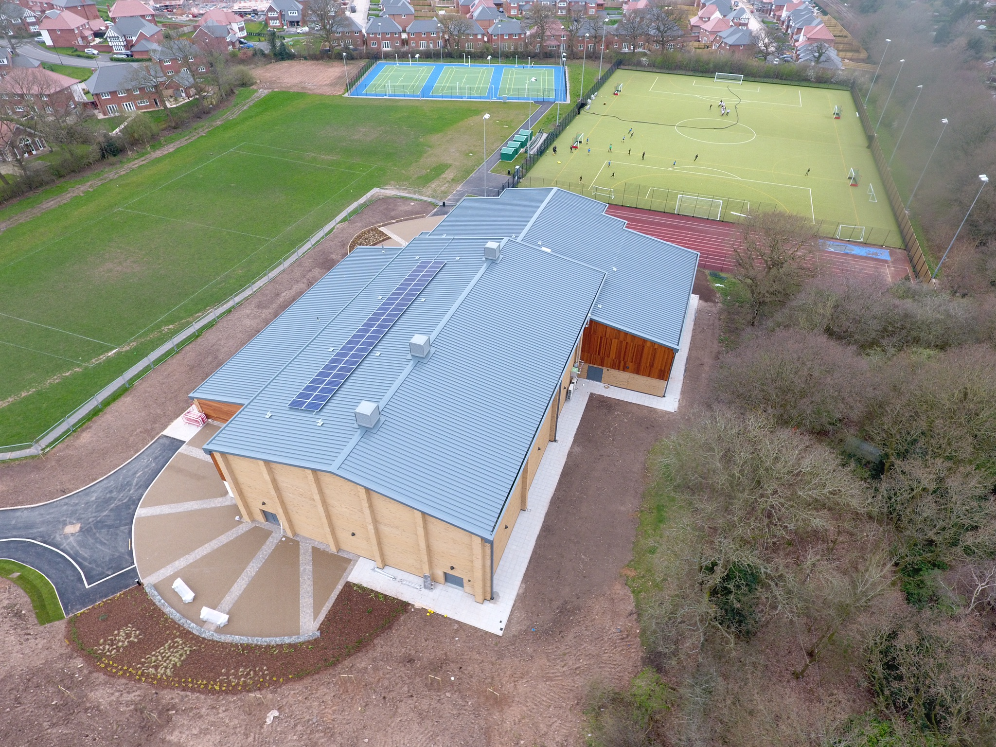Grange School Sports Hall, Northwich, Cheshire