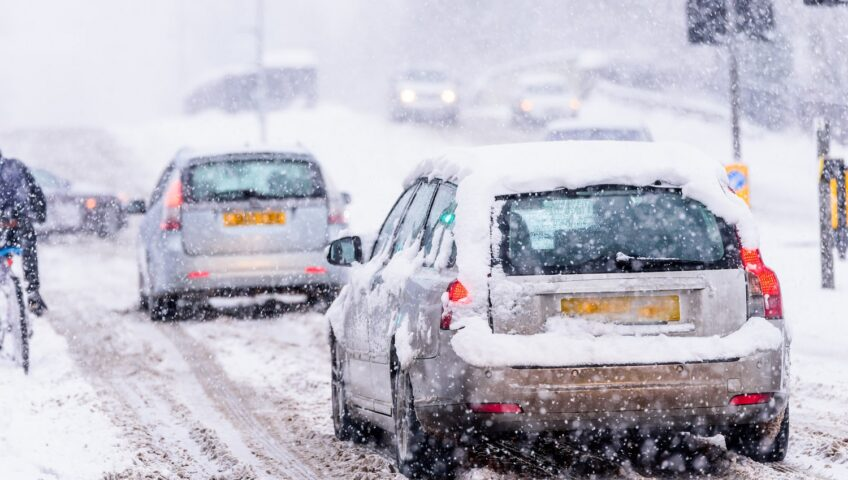 winter driving for employers